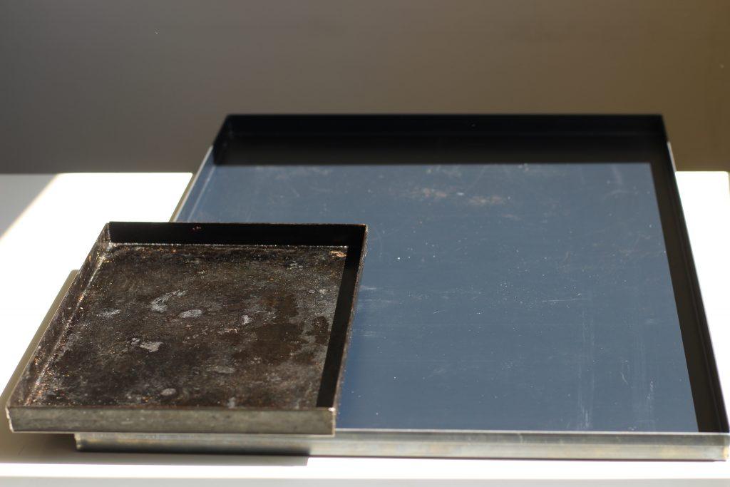 teglia romana ferro blu